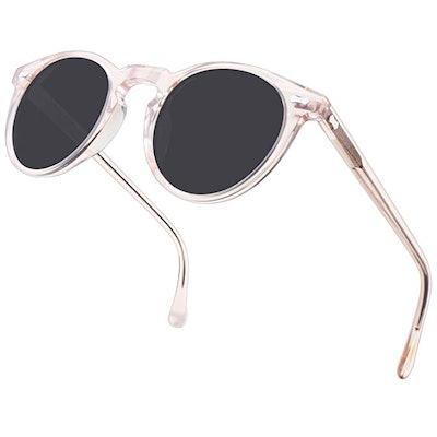 Carfia Vintage Polarized Sunglasses for Women