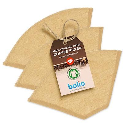 Bolio Organic Hemp Cone Coffee Filter (3 Pack)