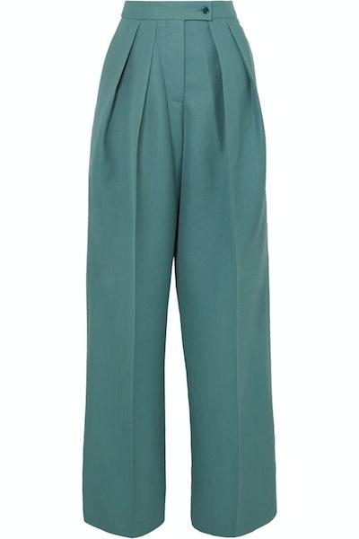 Pristine Woven Wide-Leg Pants