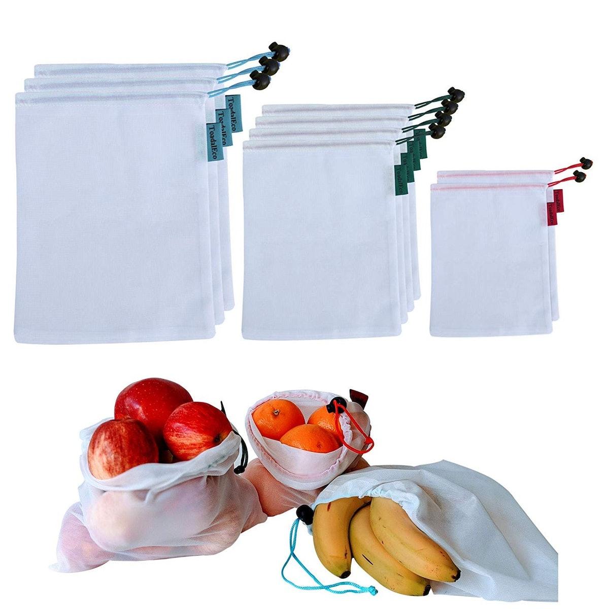 Toadal Eco Reusable Produce Bags (9-Piece Set)