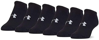 Under Armour Women's Essential No-Show Socks (6-Pack)