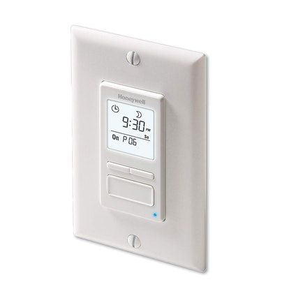 Honeywell Home Econoswitch Programmable Light Switch Dimmer
