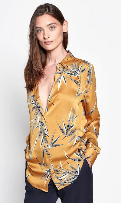 Ochre Multi Print Essential Shirt