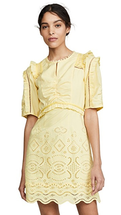 Naomie Puff Sleeve Mini Dress
