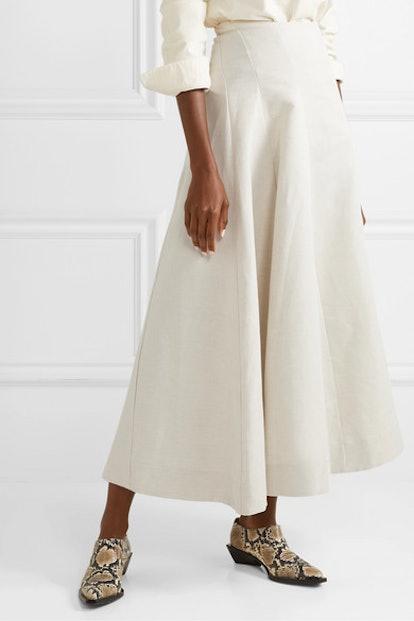 Organic Linen Skirt