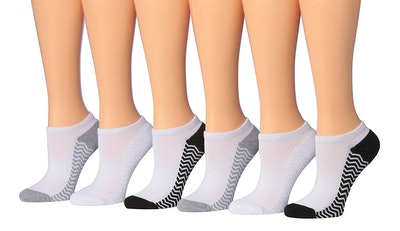 Tipi Toe No-Show Athletic Socks