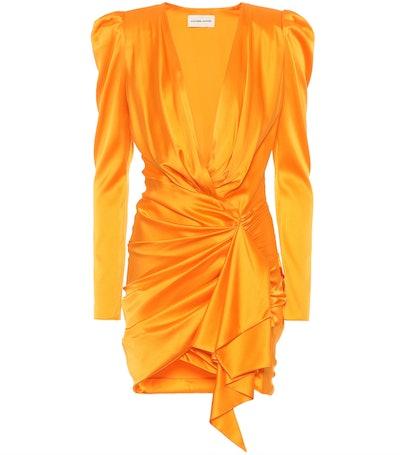 Stretch-Silk Minidress