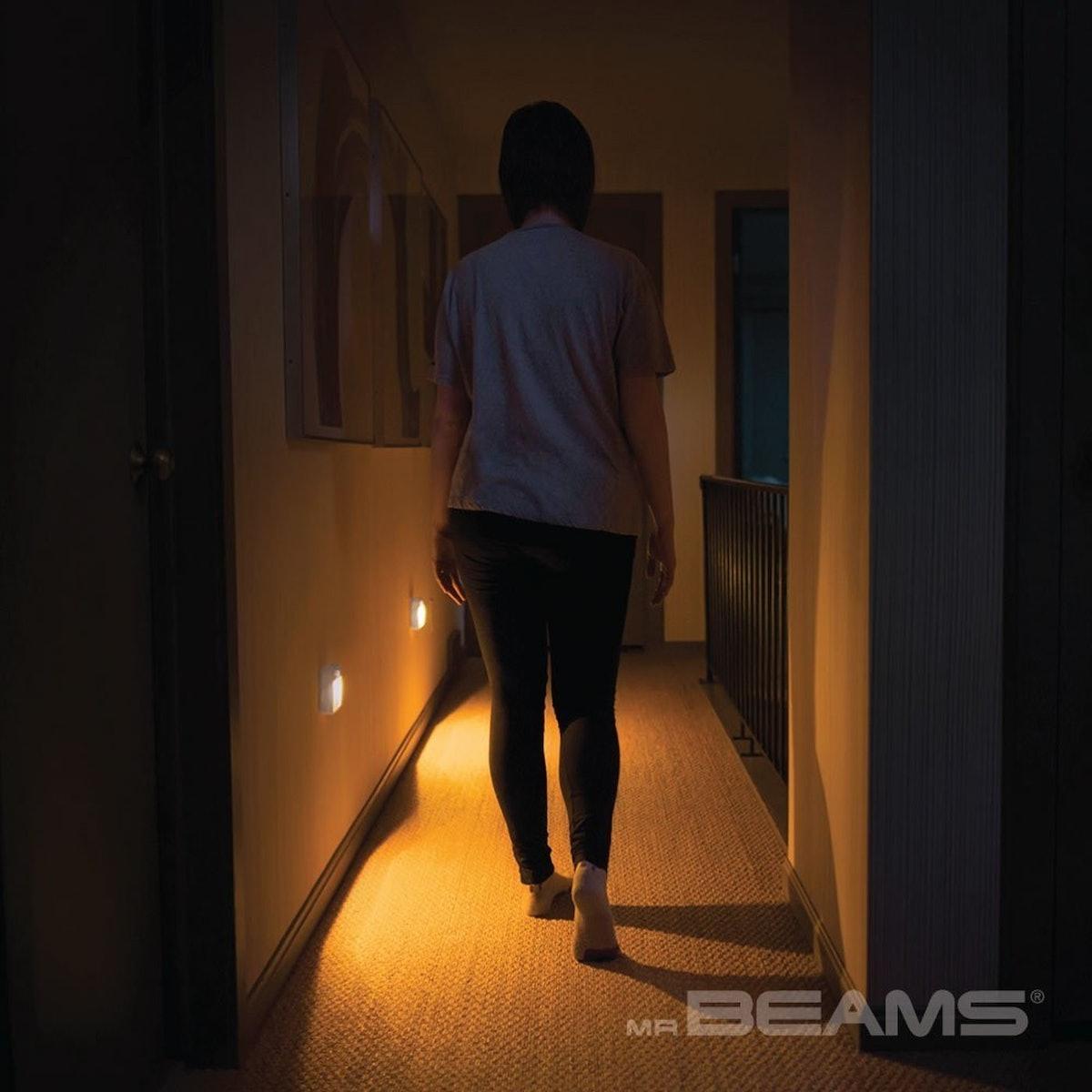 Mr. Beams Motion-Sensing Stick-Anywhere LED Night Light