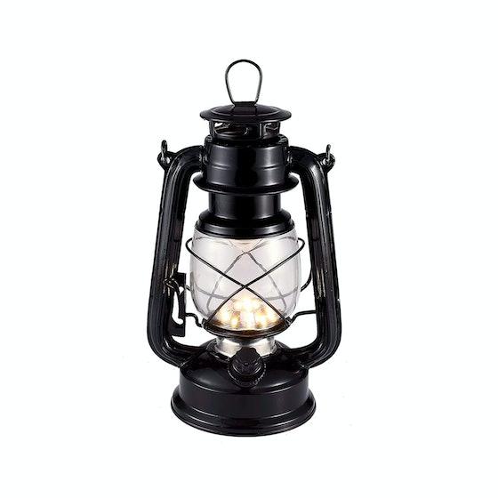 Vintage LED Hurricane Lantern