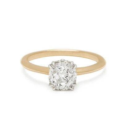 Hazeline Knife Edge Solitaire Ring