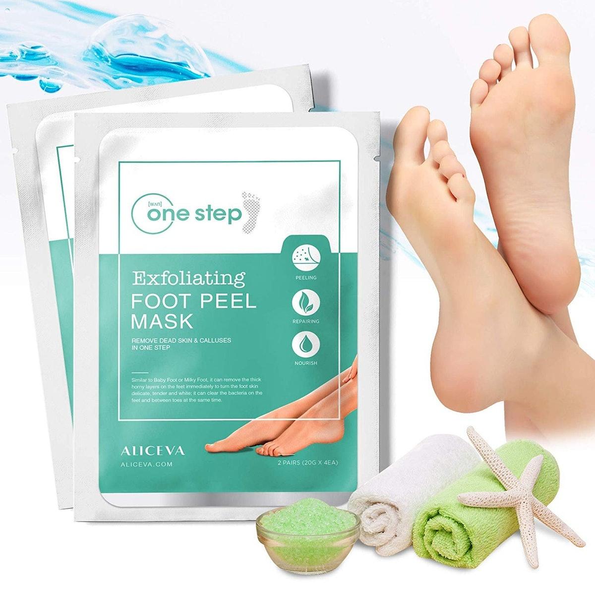 Aliceva One Step Foot Peel Mask