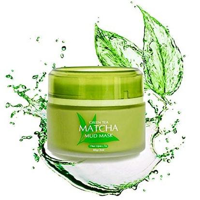 Once Upon A Tea Green Tea Matcha Facial Mud Mask