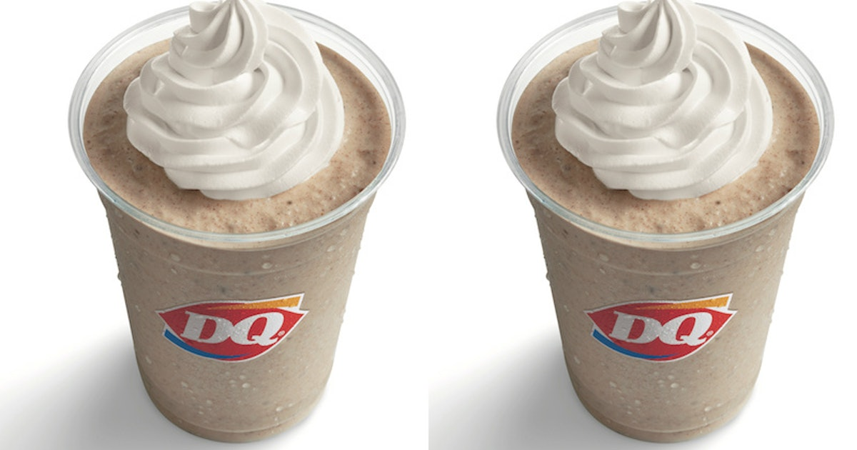 Dairy Queen's New Cinnamon Roll Milkshake Is Here To Spice Up The Fall Season