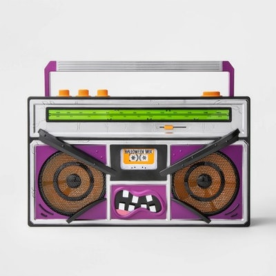 Animated Monster Boombox Halloween Décor - Hyde & EEK! Boutique™