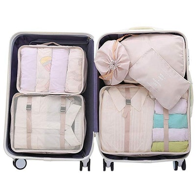 OEE Luggage Packing Organizers (6 Pieces)