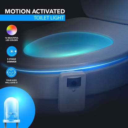 LumiLux LED Toilet Bowl Night Light