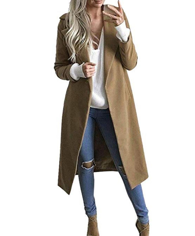 LISTHA Khaki Long Coat