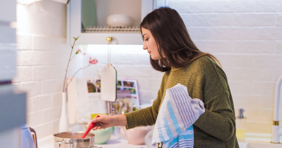 How Often Should You Change Your Tea Towels? They May Be The Dirtiest Things In Your Kitchen