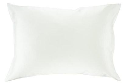 Sleeping In Silk Pillow Case