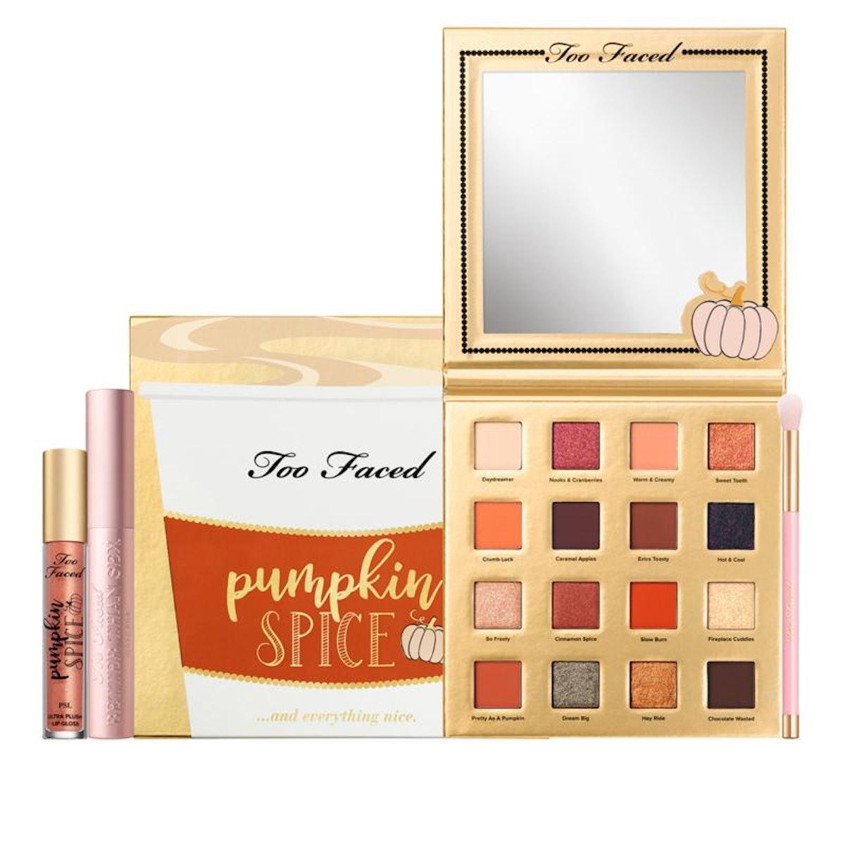 Too Faced Pumpkin Spice & Everything Nice Makeup Set