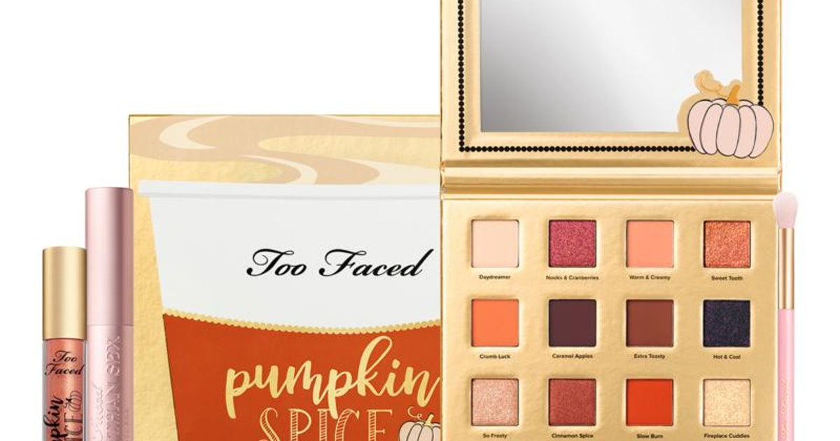 Where To Get Too Faced's Pumpkin Spice Collection For A Taste Of Fall