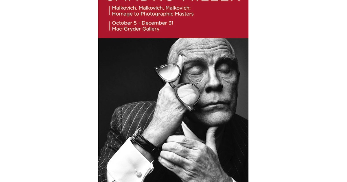 Gallery: 'Malkovich, Malkovich, Malkovich: Homage to Photographic Masters'