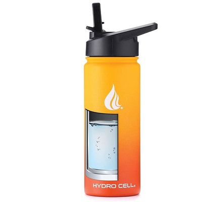 HYDRO CELL Stainless Steel Water Bottle, 24 Ounces