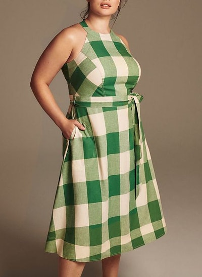 Greta Gingham Dress