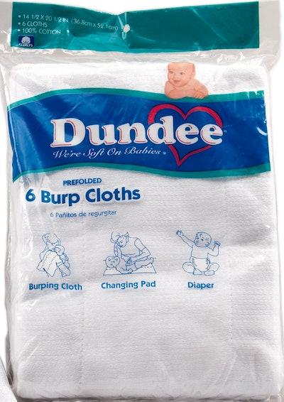 Dundee Burp Cloths (6-Pack)
