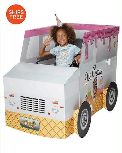 Ice Cream Truck Wheelchair Costume