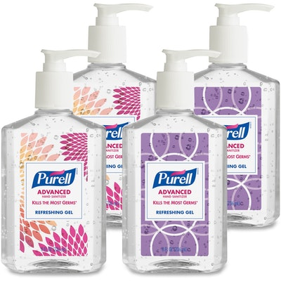 PURELL Advanced Hand Sanitizer Refreshing Gel (Pack of 4)