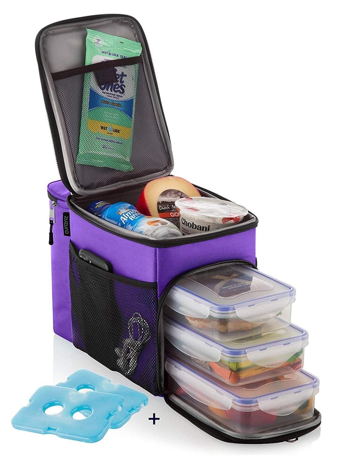 Zuzuro Insulated Compartment Lunch Box