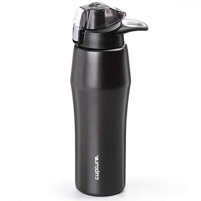 Cupture Action Stainless Steel Vacuum-Insulated Water Bottle