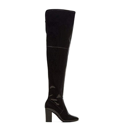 Kenneth Cole New York Women's Angelica Thigh-high Heeled Boot Over The Knee
