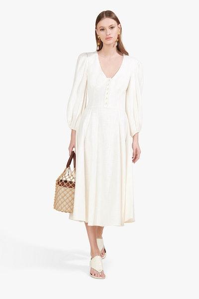 Birdie Dress - Ivory