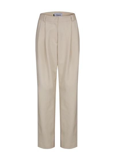 Essential Tuck Straight Pleated Pants