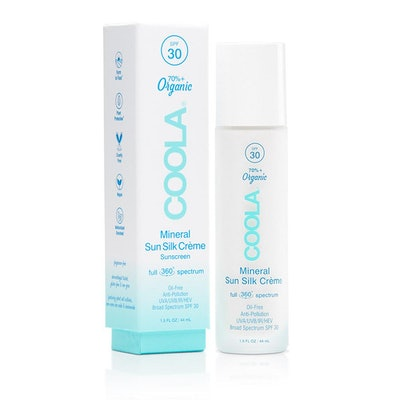 COOLA Mineral Sun Silk Crème Organic Sunscreen SPF 30