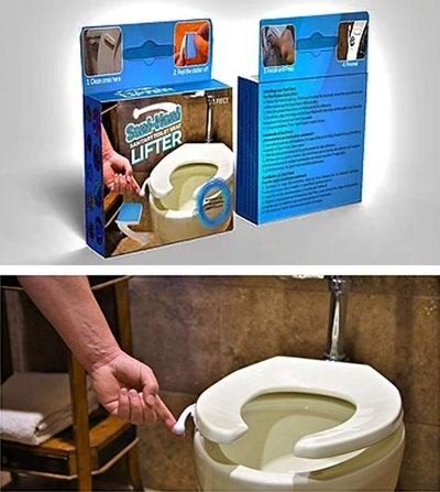 Sanitary Solutions Toilet Seat Handle