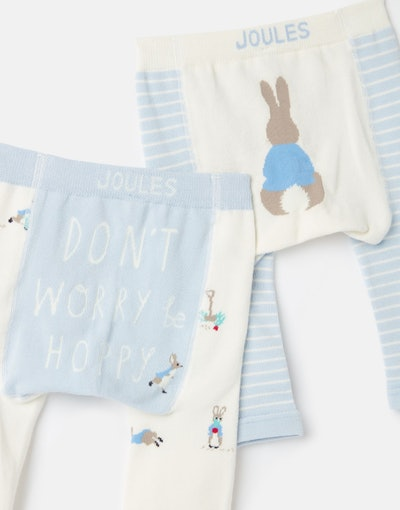Lively Official Peter Rabbit Collection 2 Pack Intarsia Leggings