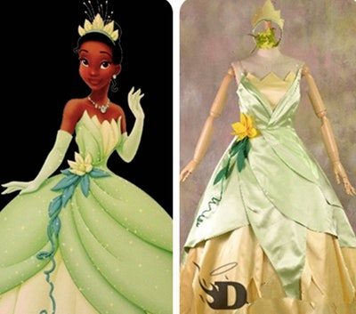 Adult Cosplay Tiana Costume