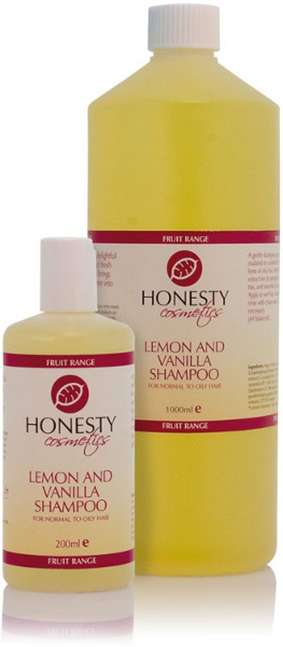 Honesty Lemon & Vanilla Shampoo
