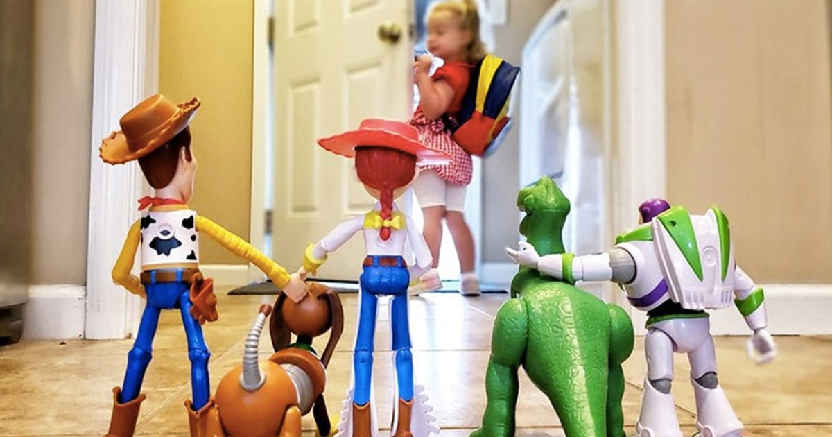 This First Day Of School Photo Idea Will Take 'Toy Story' Fans To Infinity & Beyond