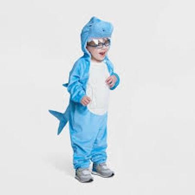 Toddler Adaptive Plush Shark Halloween Costume