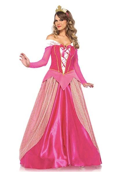 Leg Avenue Women's Classic Sleeping Beauty Princess Halloween Costume