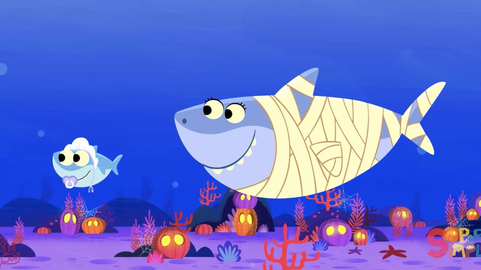 Super Simple Songs Halloween.The Baby Shark Halloween Song Is About To Take Over Your Life