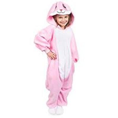 Kid's Animal Bunny Pajama Onesie