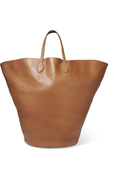 Circle Large Leather Tote