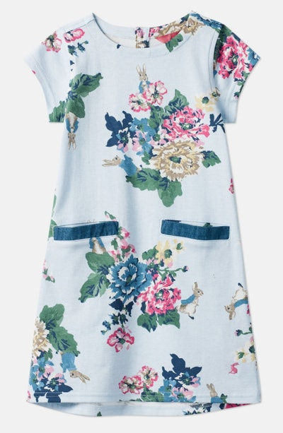 Patch Official Peter Rabbit Collection Pocket Dress 1-6 Years Old