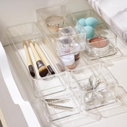 STORi Clear Plastic Organizers (6-Piece Set)