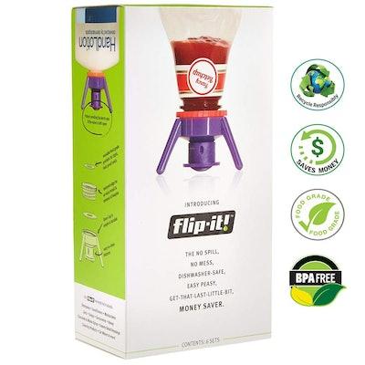 Flip-It! Bottle Emptying Stand